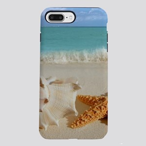 Seashell And Starfish O iPhone 8/7 Plus Tough Case