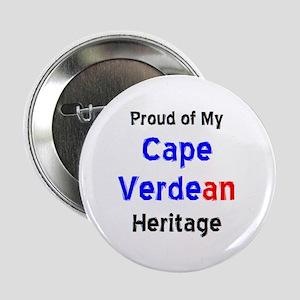 """cape verdean heritage 2.25"""" Button"""