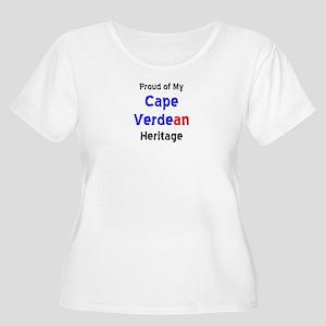 cape verdean Women's Plus Size Scoop Neck T-Shirt