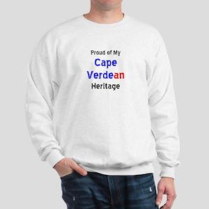 cape verdean heritage Sweatshirt