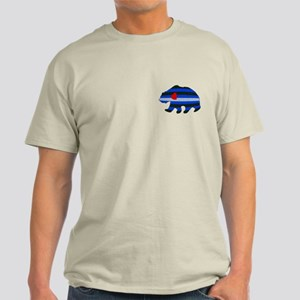 LEATHER BEAR-TILE LIGHT T-Shirt