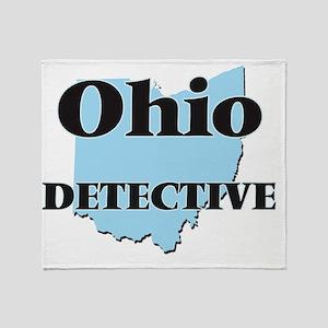 Ohio Detective Throw Blanket