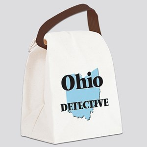 Ohio Detective Canvas Lunch Bag