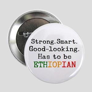 "be ethiopian 2.25"" Button"