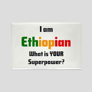 i am ethiopian Rectangle Magnet