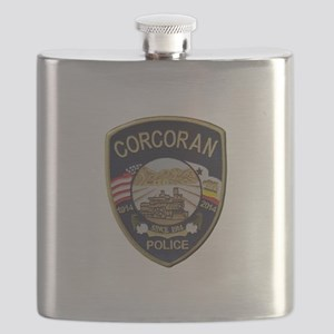 Corcoran Police Flask