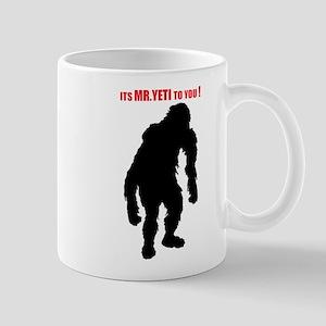Mr. Yeti Mug