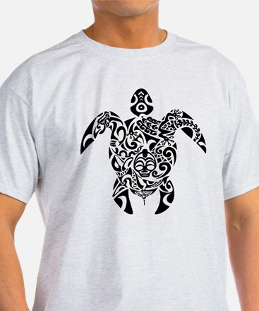 Tribal Sea Turtle T-Shirt