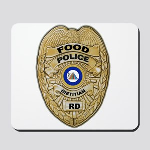 Food Police Mousepad