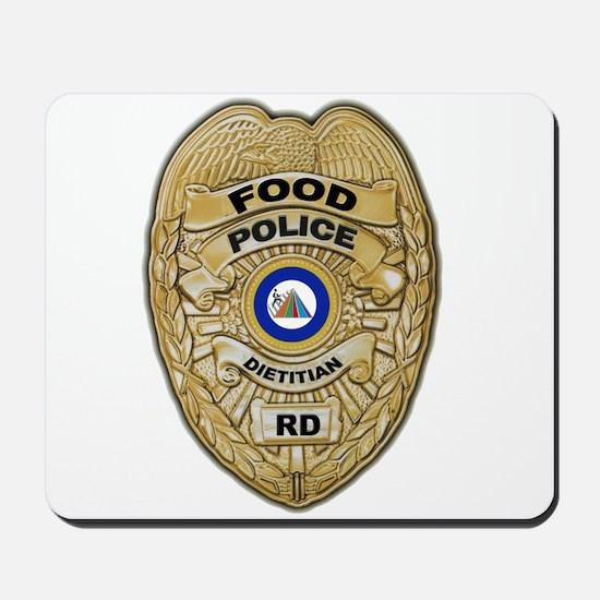Food Police Mousepad