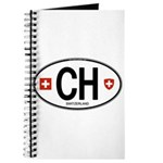 Switzerland Euro Oval Journal