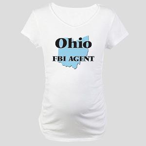 Ohio Fbi Agent Maternity T-Shirt