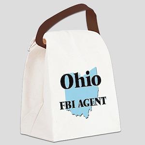 Ohio Fbi Agent Canvas Lunch Bag