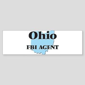 Ohio Fbi Agent Bumper Sticker