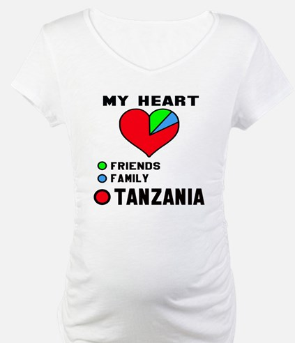 My Heart Friends, Family and Tan Shirt
