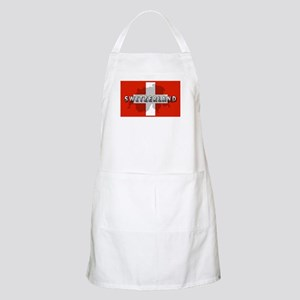 Switzerland Flag Plus BBQ Apron