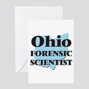 Ohio Forensic Scientist Greeting Cards