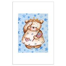 Liberty Bear Large Poster