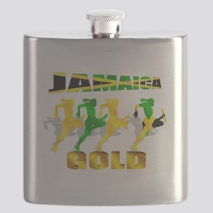 Jamaica Athletics Flask