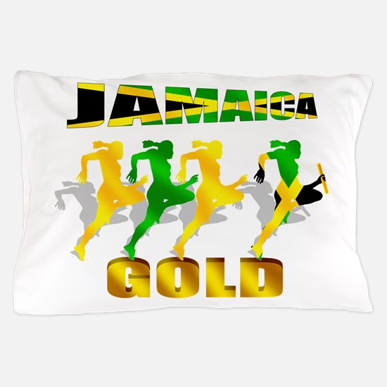 Jamaica Athletics Pillow Case