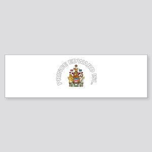 Prince Edward Island Coat of Bumper Sticker