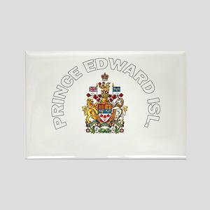 Prince Edward Island Coat of Rectangle Magnet