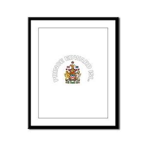 Prince Edward Island Coat of Framed Panel Print