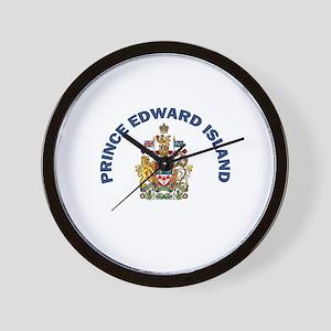 Prince Edward Island Coat of Wall Clock
