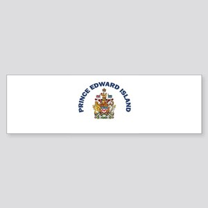 Prince Edward Island Coat of Bumper Sticker