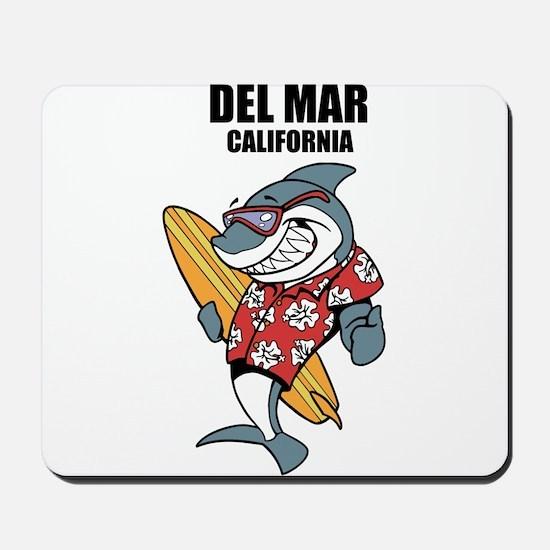Del Mar, California Mousepad