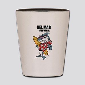 Del Mar, California Shot Glass