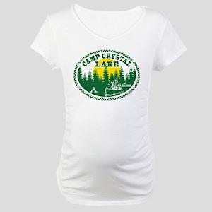Camp Crystal Lake Maternity T-Shirt