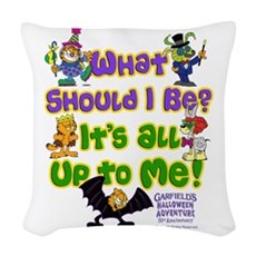 What Should I Be? Woven Throw Pillow