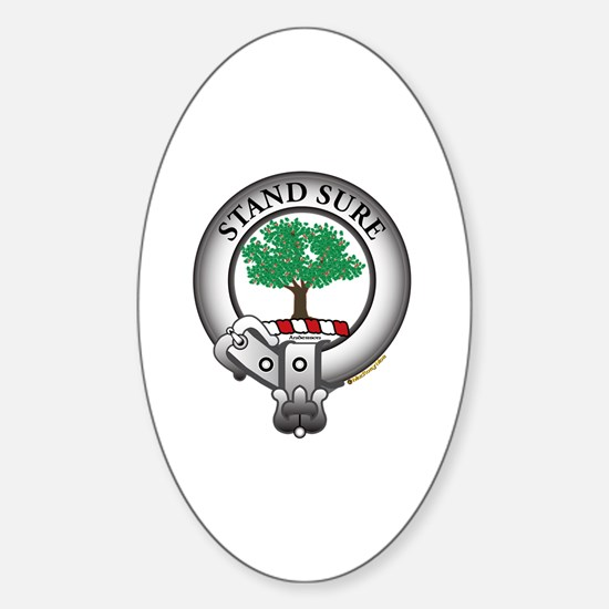 Anderson Clan Sticker (Oval)