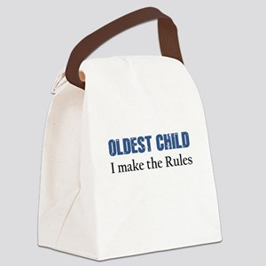 OLDEST CHILD Canvas Lunch Bag