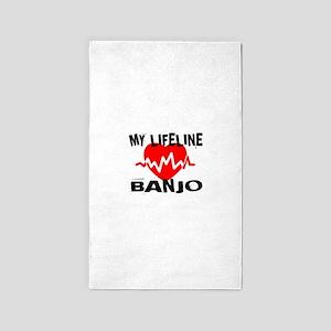 My Lifeline Banjo Area Rug