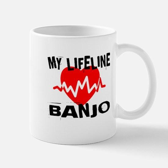 My Lifeline Banjo Mug