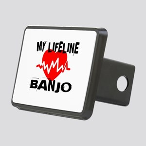 My Lifeline Banjo Rectangular Hitch Cover