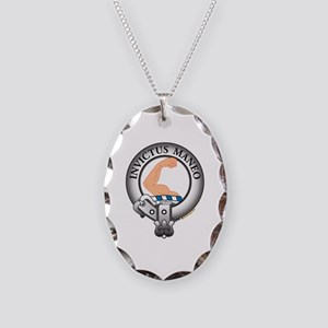 Armstrong Clan Necklace Oval Charm