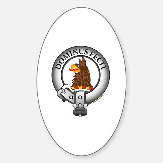 Baird Clan Sticker (Oval)