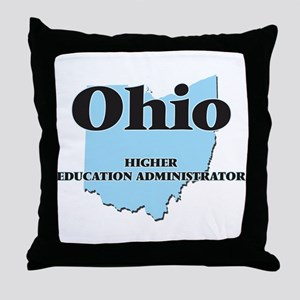 Ohio Higher Education Administrator Throw Pillow
