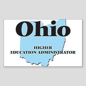 Ohio Higher Education Administrator Sticker