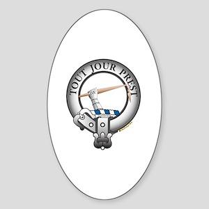 Carmichael Clan Sticker (Oval)