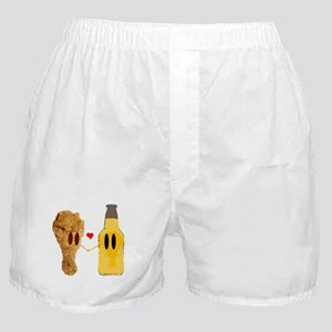 Chicken and beer Boxer Shorts