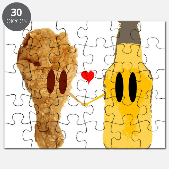 Chicken and beer Puzzle