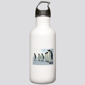 Lined up Emperor Pengu Stainless Water Bottle 1.0L