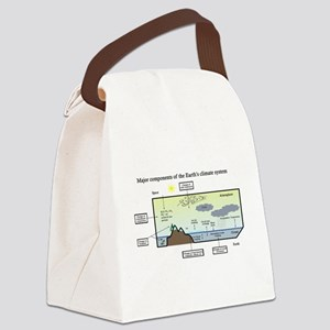Climate system Canvas Lunch Bag