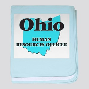 Ohio Human Resources Officer baby blanket
