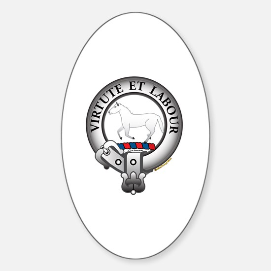 Cochrane Clan Sticker (Oval)
