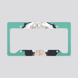 English Setter License Plate Holder